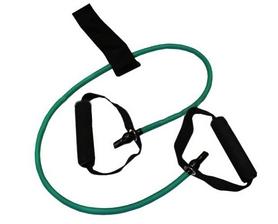 Эспандер трубчатый для фитнеса Pro Supra FI-2659-G 15LB зеленый