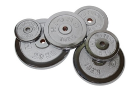 Фото 1 к товару Диск хромированный 5 кг USA Style - 31 мм