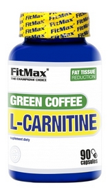 Жиросжигатель FitMax Green Coffee L-Carnitine (90 капсул)