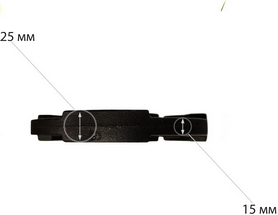 Фото 3 к товару Диск чугунный USA Style 2,5 кг - 26 мм