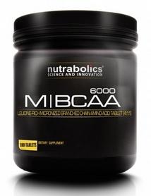 Аминокомлпекс Nutrabolics M-BCAA 6000 + B6,B12 (180 таблеток)