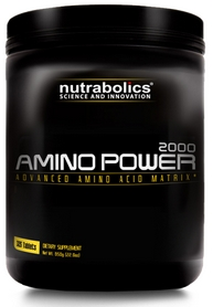 Фото 1 к товару Аминокомплекс Nutrabolics Amino Power 2000 (325 таблеток)