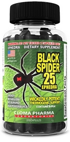 Жиросжигатель Cloma Pharma Black Spider (100 капсул)