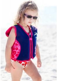 Фото 2 к товару Жилет плавательный Original Konfidence Jacket navy/pink/hibiscus