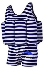 Фото 1 к товару Купальник-поплавок Konfidence Floatsuits pink berton stripe - 1-2 года