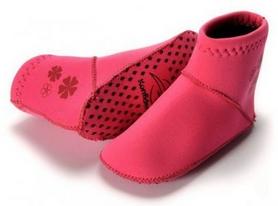 Фото 2 к товару Носки неопреновые для бассейна и пляжа Konfidence Paddle розовые