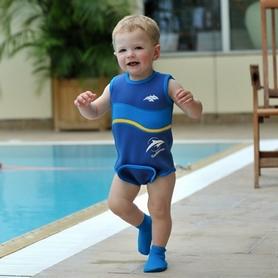 Фото 3 к товару Носки неопреновые для бассейна и пляжа Konfidence Paddler синие