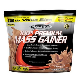 Гейнер MuscleTech 100% Premium Mass Gainer (5,5 кг)
