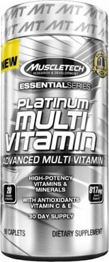 Комплекс витаминов MuscleTech Essential Multi Vitamin (90 капсул)