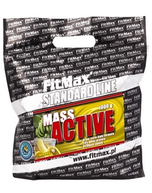 Гейнер FitMax Mass Active (1 кг)  - ваниль