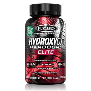 Жиросжигатель MuscleTech Hydroxycut Hardcore Elite Yohimbe (100 капсул)