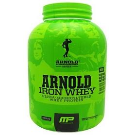Фото 1 к товару Протеин Arnold Series Iron Whey (2,2 кг)