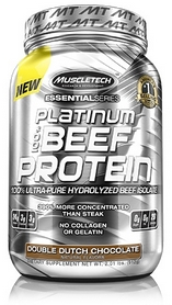 Протеин Muscletech Essential 100% Beef Protein (900 г)