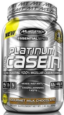Протеин Muscletech Essential 100% Casein (830 г)
