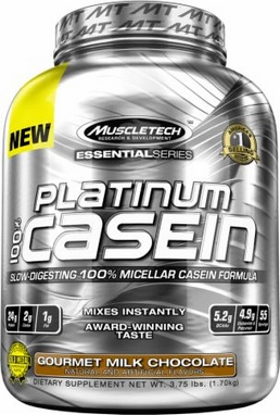 Протеин Muscletech Essential 100% Casein (1,65 кг)
