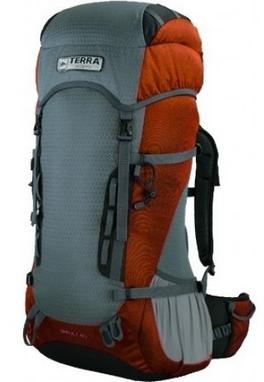Рюкзак туристический Terra Incognita Impuls 40 л оранжевый/серый