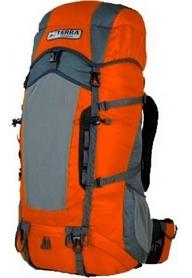 Рюкзак туристический Terra Incognita Action 35 л оранжевый/серый