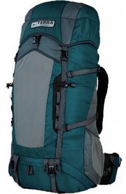 Рюкзак туристический Terra Incognita Action 35 л бирюзовый/серый