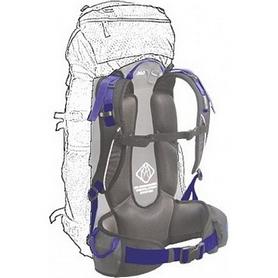Фото 3 к товару Рюкзак туристический Terra Incognita Action 45 л синий/серый