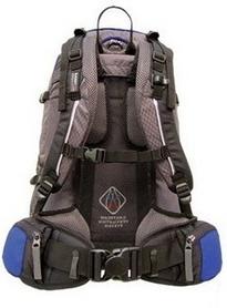 Фото 2 к товару Рюкзак спортивный Terra Incognita FreeRide 35 л синий/серый