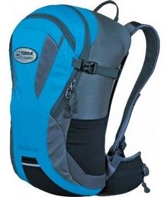 Рюкзак спортивный Terra Incognita Racer 12 л синий/серый