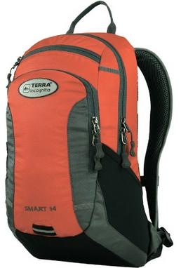 Рюкзак спортивный Terra Incognita Smart 14 оранжевый/серый