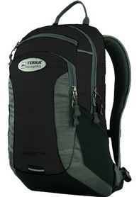 Рюкзак спортивный Terra Incognita Smart 14 черный/серый