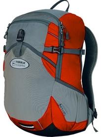 Рюкзак спортивный Terra Incognita Onyx 18 красный/серый