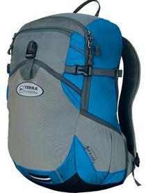 Рюкзак спортивный Terra Incognita Onyx 18 синий/серый