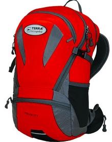 Рюкзак спортивный Terra Incognita Velocity 20 красный/серый