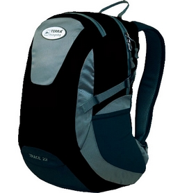 Рюкзак городской Terra Incognita Trace 22 черный/серый
