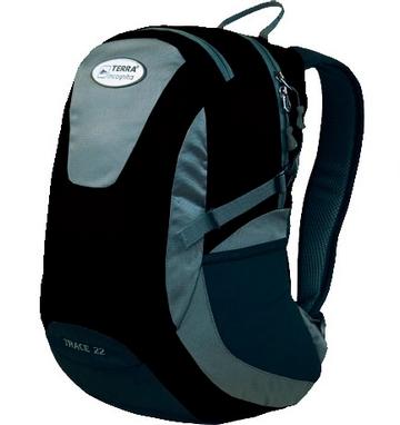 Рюкзак городской Terra Incognita Trace 28 черный/серый