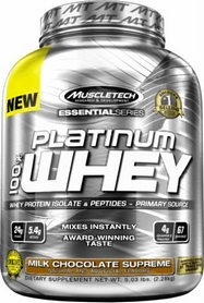 Фото 1 к товару Протеин Muscletech Essential 100% Whey (2,28 кг)