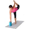 Йога-блок Pro Supra 15,5x7,5 см розовый - фото 3