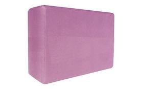 Йога-блок Pro Supra 15,5x7,5 см розовый
