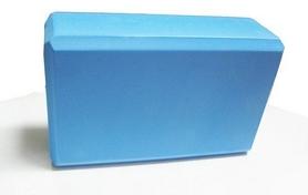 Йога-блок Pro Supra 15,5x7,5 см синий
