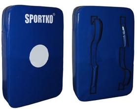 Макивара прямая Sportko M3 (60x40x15 см) синяя