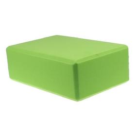 Йога-блок Pro Supra 15,5x7,5 см зеленый