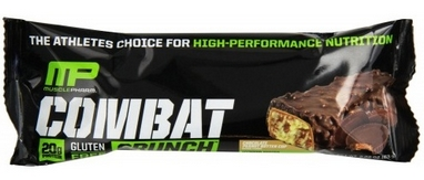 Батончик MusclePharm Combat Crunch Bars (63 г)