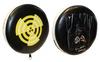 Лапы прямые круглые Rival MA-3301 (27x6 см) черно-желтая (2 лапы) - фото 1