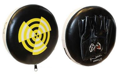 Лапы прямые круглые Rival MA-3301 (27x6 см) черно-желтая (2 лапы)