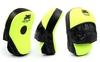 Лапы изогнутые Venum MA-016 (25x19x7 см) желтый/черный - фото 1