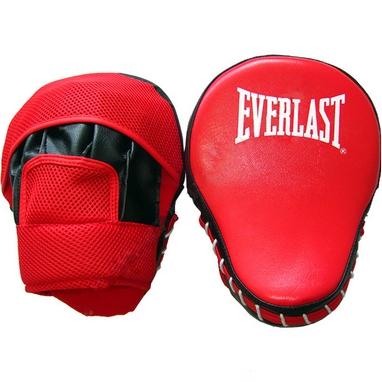 Лапа изогнутая Everlast BO-3955 (25x18x8 см) черный/красный
