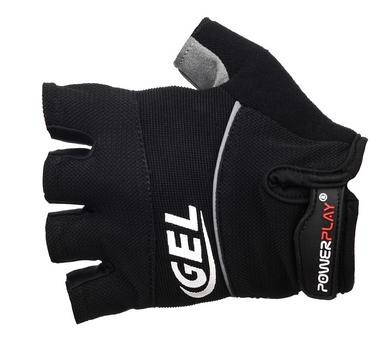 Перчатки велосипедные PowerPlay 1058 black