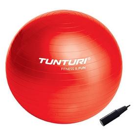 Мяч для фитнеса (фитбол) Tunturi Gymball 65 см красный