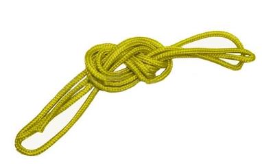 Cкакалка гимнастическая ZLT 04LS-98 желтая