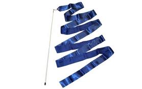 Лента гимнастическая ZLT C-1762 6,8 м синяя
