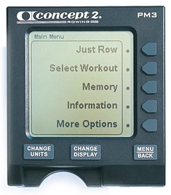 Фото 3 к товару Тренажер гребной Concept PM3 monitor