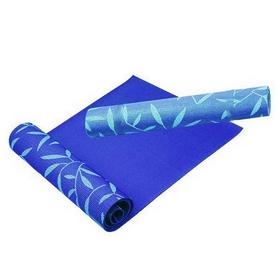 Коврик для йоги (йога-мат) Rising 4 мм синий