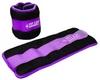 Утяжелители-манжеты ZLT FI-2502-1 2 шт по 0,5 кг purple - фото 1